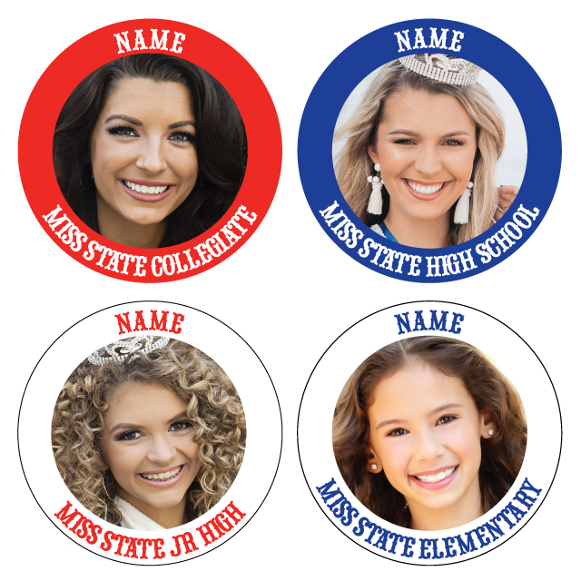Pinback Buttons for High School America